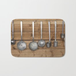 ladles in the kitchen Bath Mat