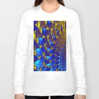 fractal Long Sleeve T-shirts featuring Fractal. by Assiyam