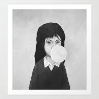 bubble Art Prints featuring bubble by Balazs Solti