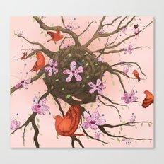 Symbiosis Print! Canvas Print