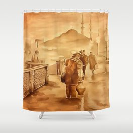 Yoghurt Delivery - The Yogurtcu Shower Curtain