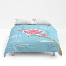 Plum and Dragon Comforters