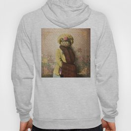Lady Vanderkat with Roses Hoody