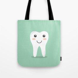 Cute Teeth Tote Bag