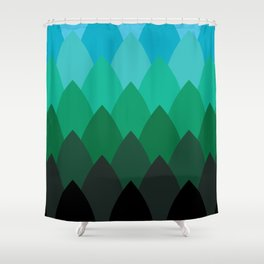 Forest Ombré Shower Curtain