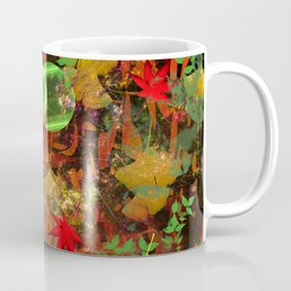 Autumn Leaf Droppings Coffee Mug