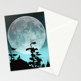 When Night Falls Stationery Cards