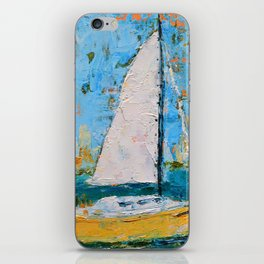 Splendor - Sailboat iPhone Skin