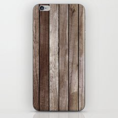 Wooden Texture iPhone & iPod Skin