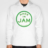 jamaica Hoodies featuring Made in Jamaica (not Queens) by DCMBR - December Creative Group