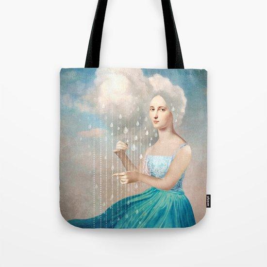Melody of Rain Tote Bag