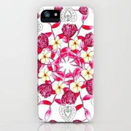 Bali Inspired Nature Mandala iPhone Case