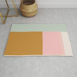 Geometric Color Block #4 Rug