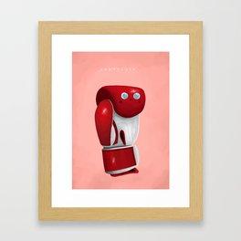 Uppercute Framed Art Print