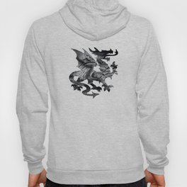Medieval dragon Hoody