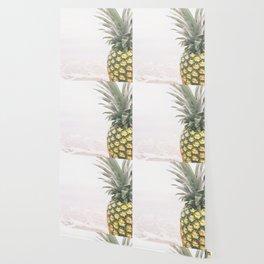Pineapple Beach Wallpaper