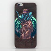 ganesh iPhone & iPod Skins featuring Ganesh by Renato Guerra