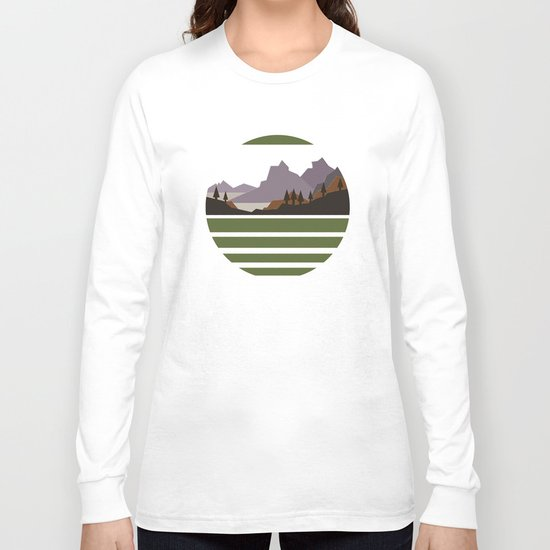 Rough Mountains Long Sleeve T-shirt