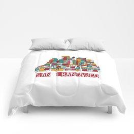 San Fransisco Comforters