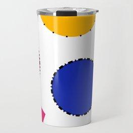 circles seamless pattern tileable Travel Mug