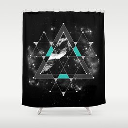 Time & Space Shower Curtain