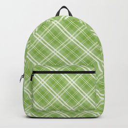 Color of the Year Pantone 2017 Designer Colors Greenery Tartan Plaidthe Year Pantone 2017 Designer C Backpack