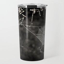 SPIDERWEB IN TREE Travel Mug