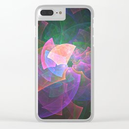 Kaleidoscope Vision Clear iPhone Case
