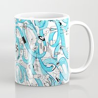 zappa Mugs featuring Creation of the World by Nika Belova