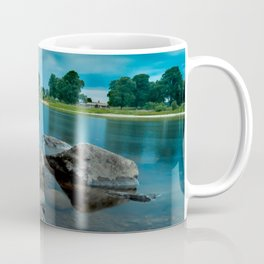 River Landscape Photography - The Banks of the Tay, Scotland Coffee Mug