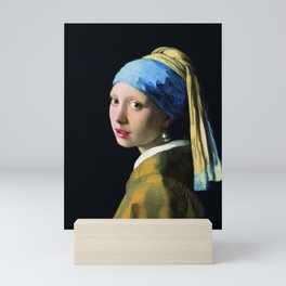 Jan Vermeer Girl With A Pearl Earring Baroque Art Mini Art Print