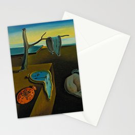 Persistance of memory - Dali Stationery Cards