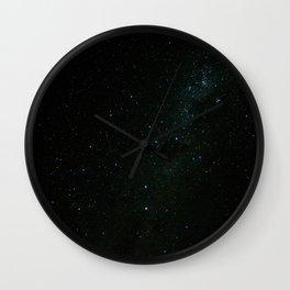 Night at the southern skies III Wall Clock