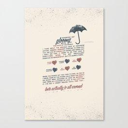 Love Actually Canvas Print