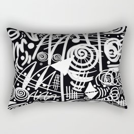 Chalk Board! Rectangular Pillow