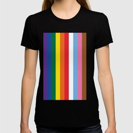ALL THE COLORS OF LGBTQI+ QUEER COLOUR STORY UNITY T-shirt
