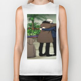 Stay Close To Me - Yuri On ice Biker Tank