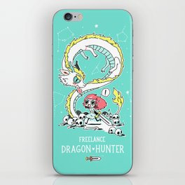 Dragon Hunter iPhone Skin