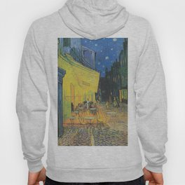 Cafe Terrace at Night by Vincent van Gogh Hoody