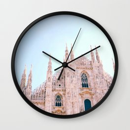 Milan Italy Wall Clock