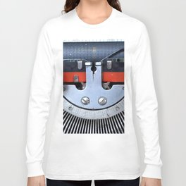 Vintage typewriter 2 Long Sleeve T-shirt