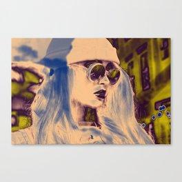 EAST LDN Canvas Print