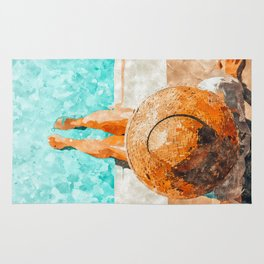 By The Pool All Day Rug