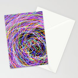 Abstract Light Painting Stationery Cards