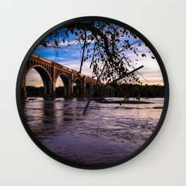 As The Train Goes By Wall Clock