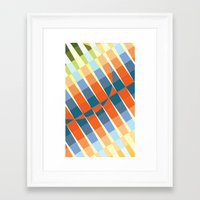 art deco Framed Art Prints featuring Art Deco by Robert Cooper