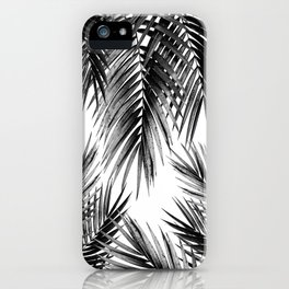 Palm Leaf Jungle Vibes #3 #tropical #decor #art #society6 iPhone Case
