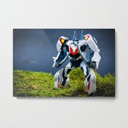 Autobot Wheeljack Metal Print