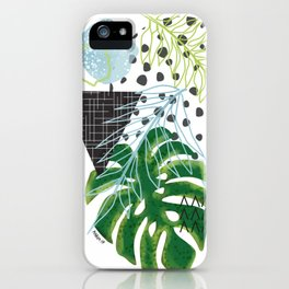 Abstract Palms iPhone Case