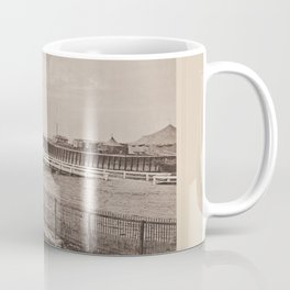 Entree du Port de Trouville Les Travaux Publics de la France Coffee Mug
